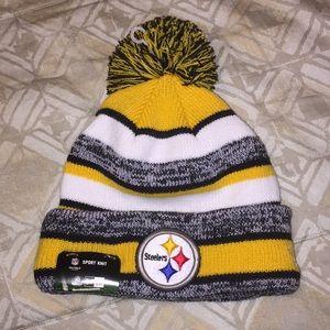 NFL Steelers Hat - *NWT* - O/S